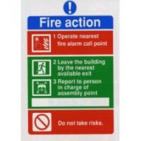 N7 Fire Action Notice
